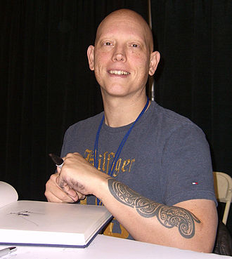 David Finch (comics) - Finch at the New York Comic Con in Manhattan, October 10, 2010.