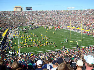 Notre Dame–USC football rivalry - Notre Dame and USC take the field in the 79th edition of the rivalry.