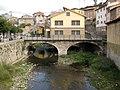 108 La Pobla de Lillet, pont del Magret, al fons el pont Vell.jpg