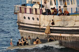 Carrier Strike Group 2 - Gulf of Aden (13 August 2011)