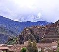127 - Ollantaytambo - Panorama des ruines - Décembre 2009 - 1 de 3.jpg