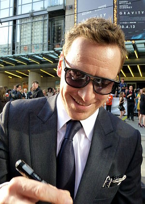 Michael Fassbender - Fassbender at the premiere of 12 Years a Slave, 2013 Toronto International Film Festival
