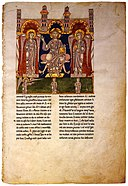12th-century painters - Christ in Majesty with Angels - WGA16030.jpg