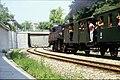 131L20010685 Vorortelinie, Dampf Sonderfahrt, Lok 93.1422, Bereich Haltestelle Unterdöbling, Im Hintergrund Brücke Döblinger Hauptstrasse.jpg