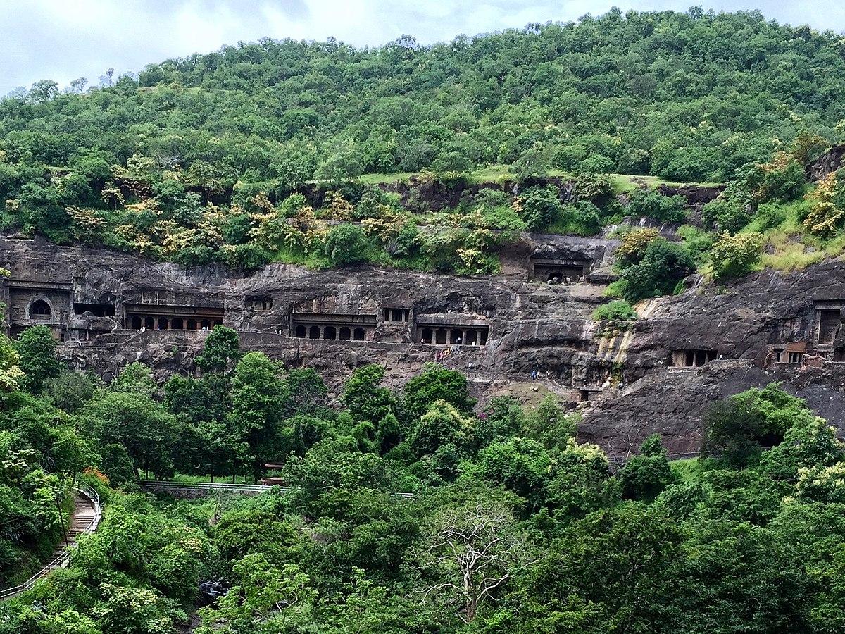 caves ajanta india buddhist wikipedia wiki overview