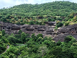 Buddhist caves in India