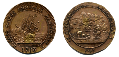 1783, Royal George medallion.png