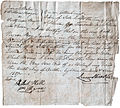 1807 Auction Bill of Sale for Negro Slave Boy.jpg