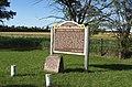 1825 Kaw Treaty Site historical markers at Elysia, Kansas (e7b264ee08f848d4915531c9242d1d95).JPG