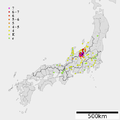 1847 Zenkoji earthquake intensity.png