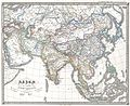 1855 Perthes Map of Asia at the end of the 17th Century - Geographicus - Asia17th-perthes-1855.jpg