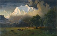 1875, Bierstadt, Albert, Mount Adams, Washington.jpg