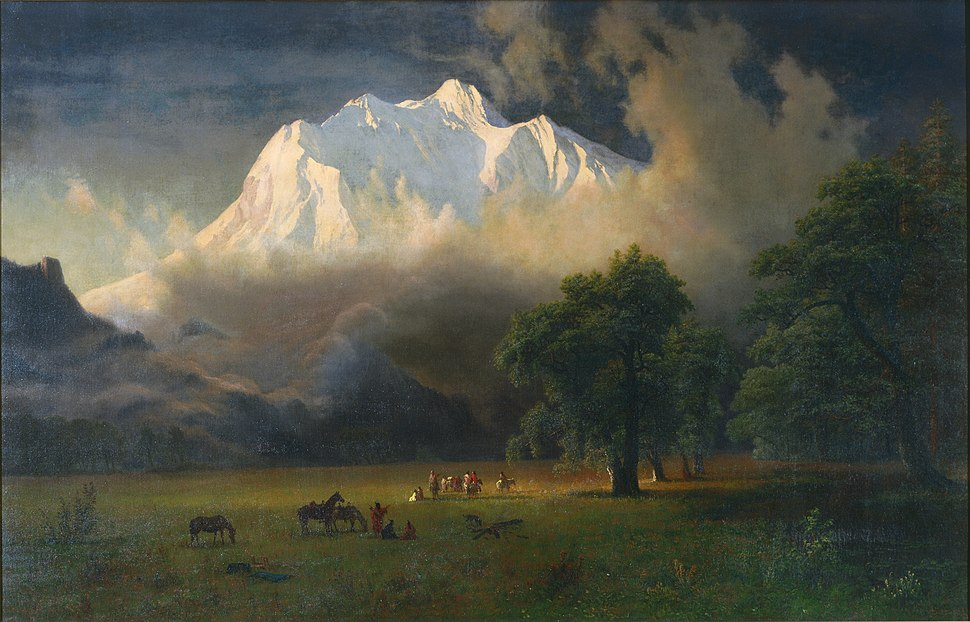 1875, Bierstadt, Albert, Mount Adams, Washington