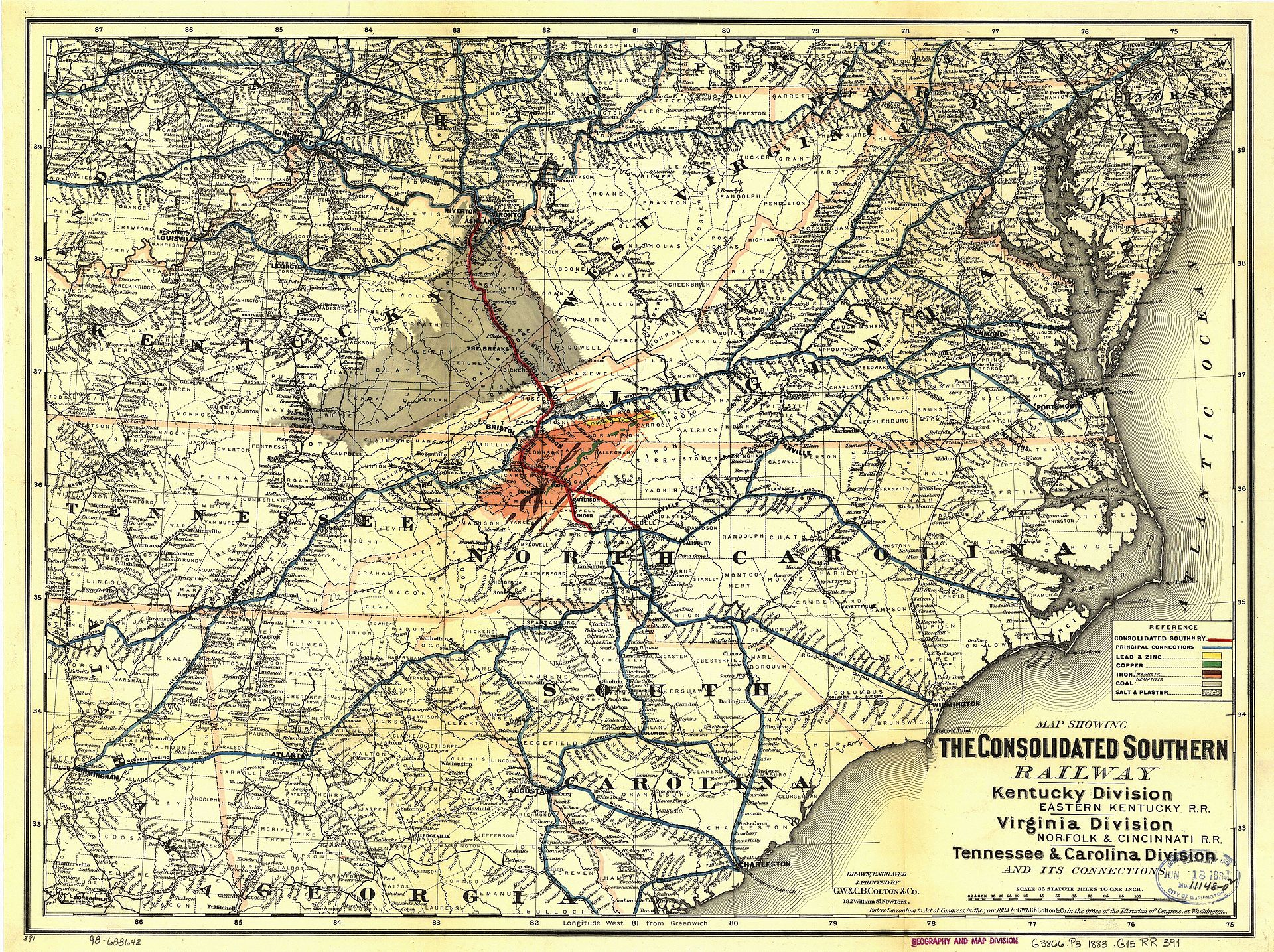 Eastern Kentucky Railway Wikipedia
