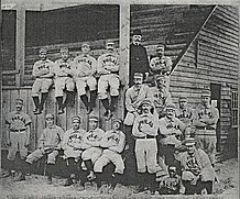 Team photograph of the 1890 Philadelphia Phillies