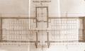 1900 - Scoala rurala tip, cu doua clase plan parter.png