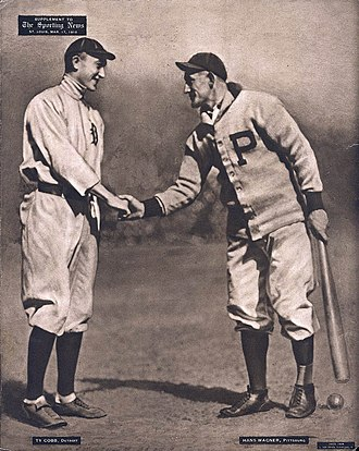 Ty Cobb - Cobb and Honus Wagner, 1909