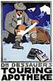 1910 circa Carl Kunst, Dr. Dessauer's Touring Apotheke, Wilhelm Natterer, München, Lithographie circa 76 x 50 cm Hugo Bestehorn, Magedburg.jpg