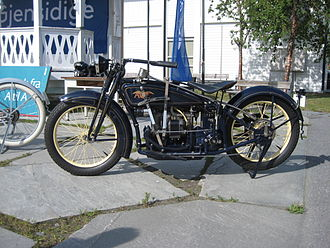 Ace Motor Corporation - Ace Motorcycle, 1923