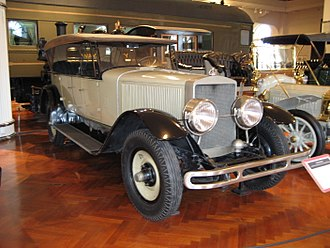 History of the automobile - 1924 Doble Model E