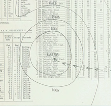 1940 Nova Scotia hurricane analysis 13 Sep 1940.png