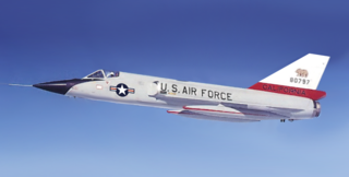 Convair F-106 Delta Dart US Air Force all-weather interceptor aircraft