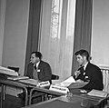 1958 visite d'une délégation INRA au Haras du Pin Cliché Jean Joseph Weber-34.jpg