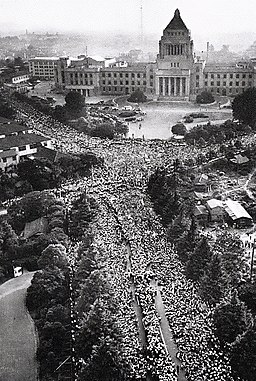 1960 Protests against the United States-Japan Security Treaty 07
