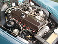 1964 Alvis TE21 in Morges 2013 - Engine.jpg