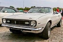 1968 Chevrolet Camaro Cabriolet Front weiß