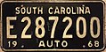 1968 South Carolina license plate.jpg