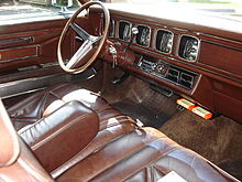 1971 lincoln continental mark iii interior