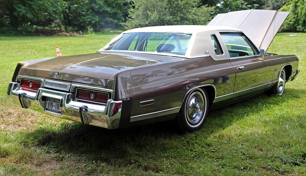File 1974 Dodge Monaco Brougham 2 Dr Hardtop Rear Right