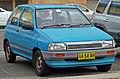 1988-1989 Mazda 121 (DA) Shades 3-door hatchback 01.jpg