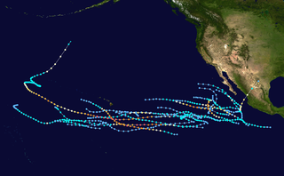 1994 Pacific hurricane season Period of formation of tropical cyclones in the Eastern Pacific Ocean in 1994