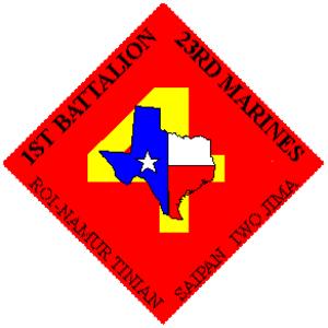 1st Battalion, 23rd Marines - 1st Battalion, 23rd Marines insignia