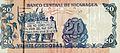 20-Córdoba Banknote Nicaragua 1985 Rückseite.jpg