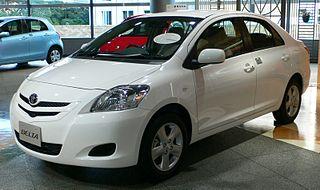 Toyota Belta Motor vehicle
