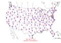 2006-04-16 Max-min Temperature Map NOAA.png