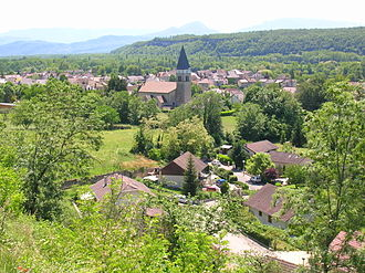 Ain - Artemare, village in the department