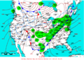 2007-01-13 Surface Weather Map NOAA.png