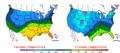 2007-03-01 Color Max-min Temperature Map NOAA.png