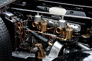 Invicta (car) - 4½ litre Meadows engine in an S-type