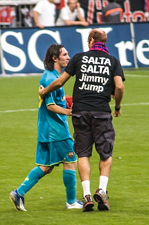 Jimmy Jump - Jimmy Jump and Lionel Messi