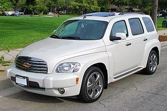 Chevrolet HHR - Image: 2007Chevrolet HHR 001