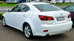 2007 Lexus IS 250 (GSE20R) Prestige sedan (2011-04-22).jpg