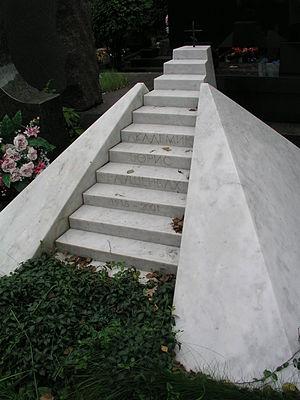 Boris Rauschenbach - The grave of Boris Rauschenbach in Novodevichy Cemetery, Moscow