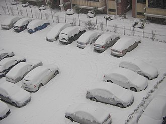 2008 Chinese winter storms - The extent of the snowfall in Anhui Province