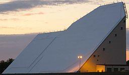 2008 Eglin AFB Site C-6 phased array building.jpg