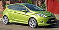 2009-2010 Ford Fiesta (WS) Zetec 3-door hatchback 01.jpg
